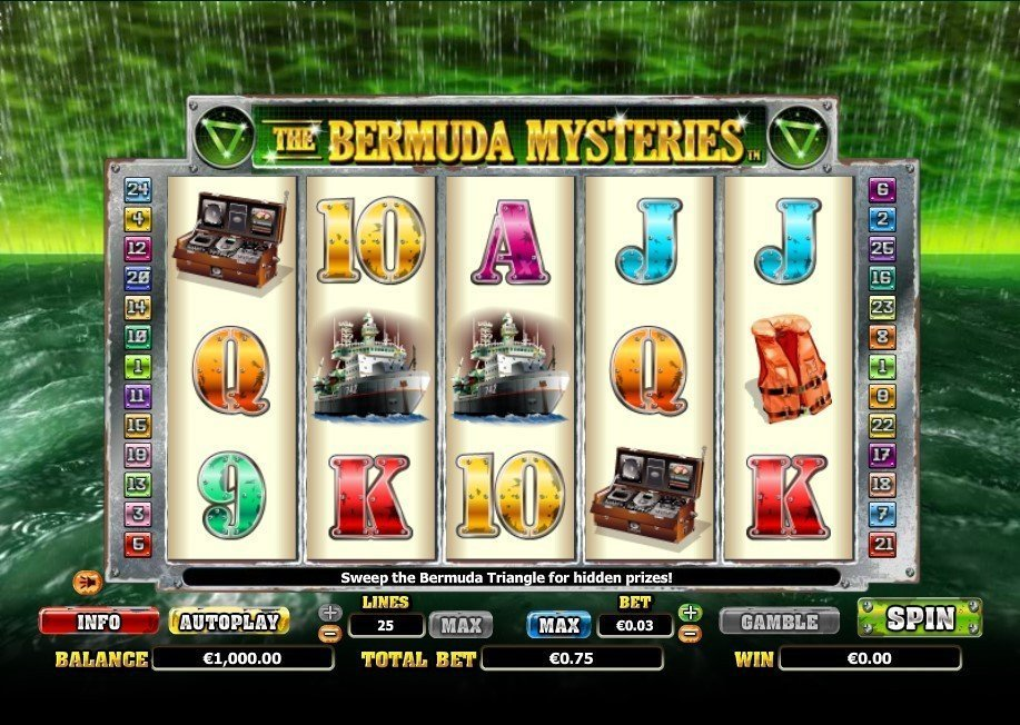 The Bermuda Mysteries Slot Review