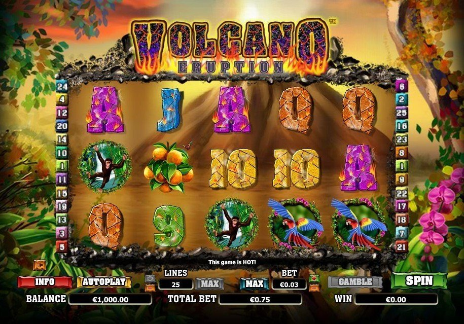 Volcano Eruption Slot Review