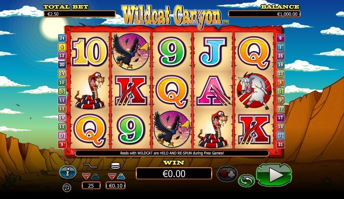 Wildcat Canyon Slot Review