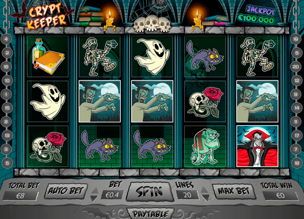 Crypt Keeper Slot Review