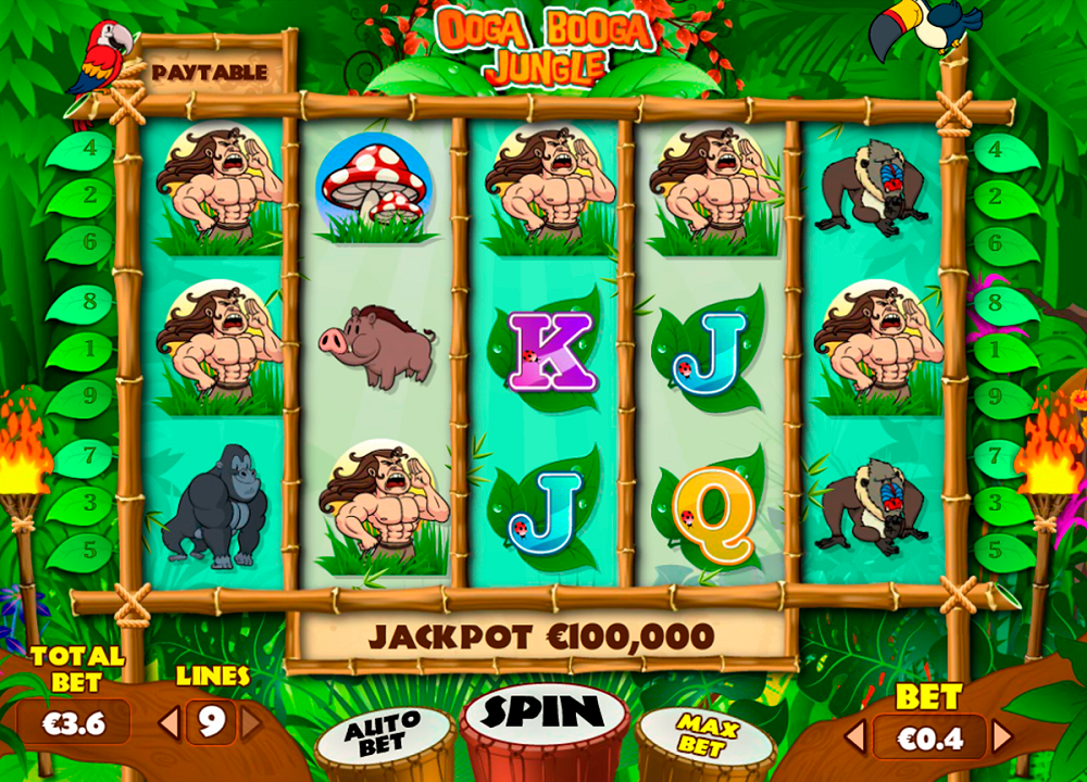 Ooga Booga Jungle Slot Review