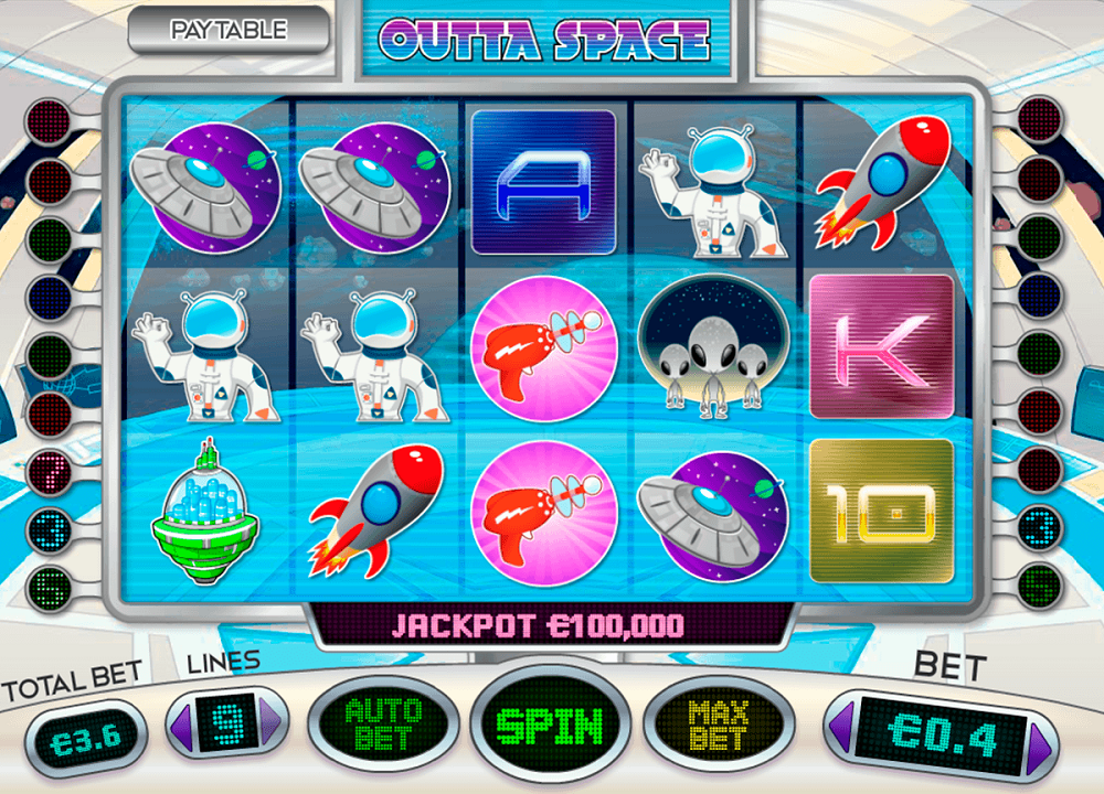 Outta Space Slot Review