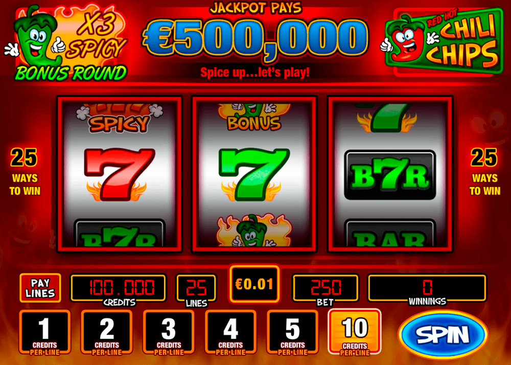 Red Hot Chili Chips Slot Review
