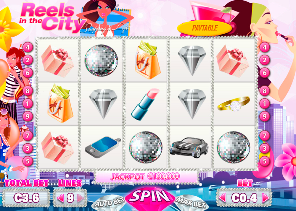 Reels In The City Slot Review