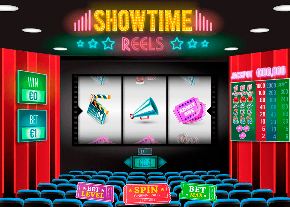 Showtime Reels Slot Review