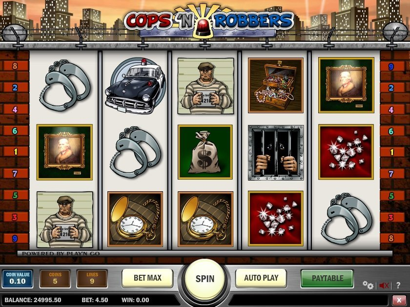 Cops N Robbers Slot Review