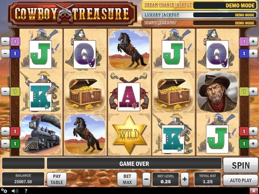 Cowboy Treasure Slot Review