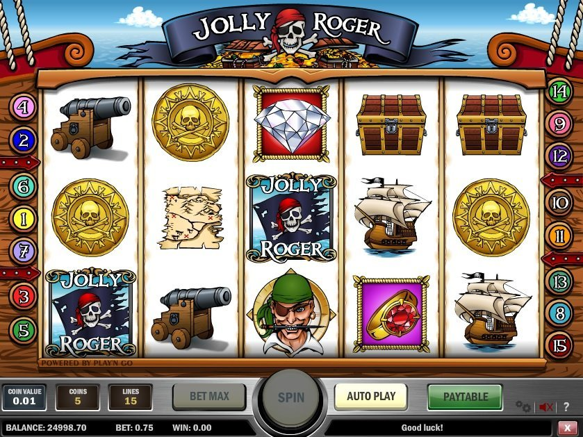 Jolly Roger Slot Review