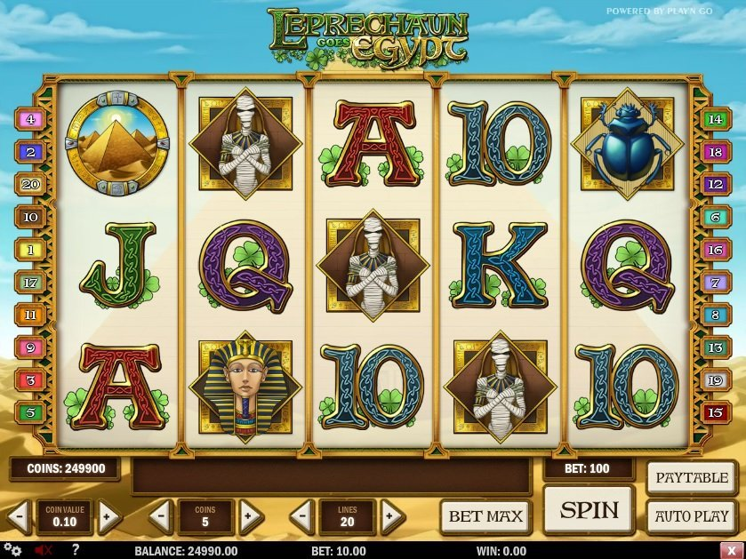 Leprechaun Goes Egypt Slot Review