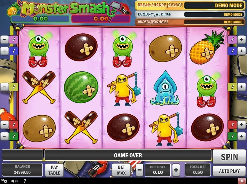 Monster Smash Slot Review