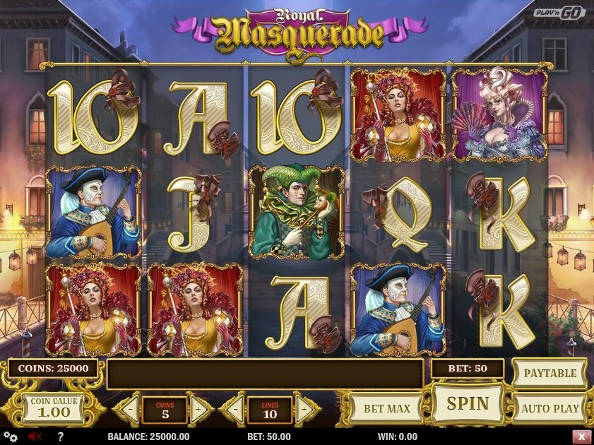 Royal Masquerade Slot Review