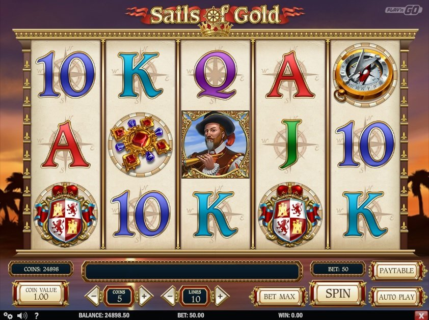 Sails Of Gold Slot Review