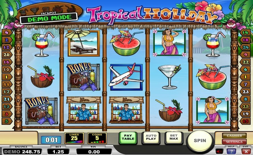Tropical Holiday Slot Review