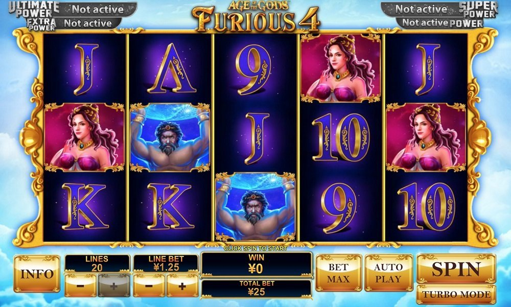 Age Of The Gods Furious 4 Slot Review