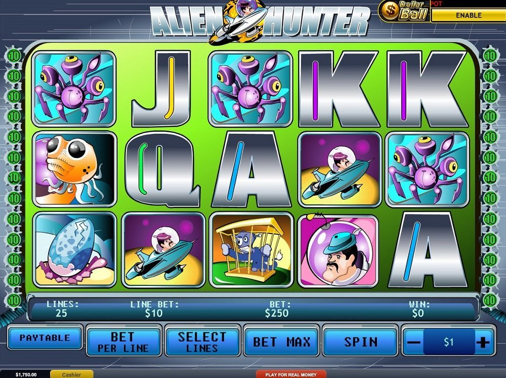 Alien Hunter Slot Review