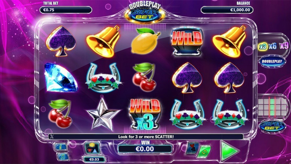 Doubleplay Super Bet Slot Review