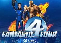 Fantastic Four 50 Lines Slot