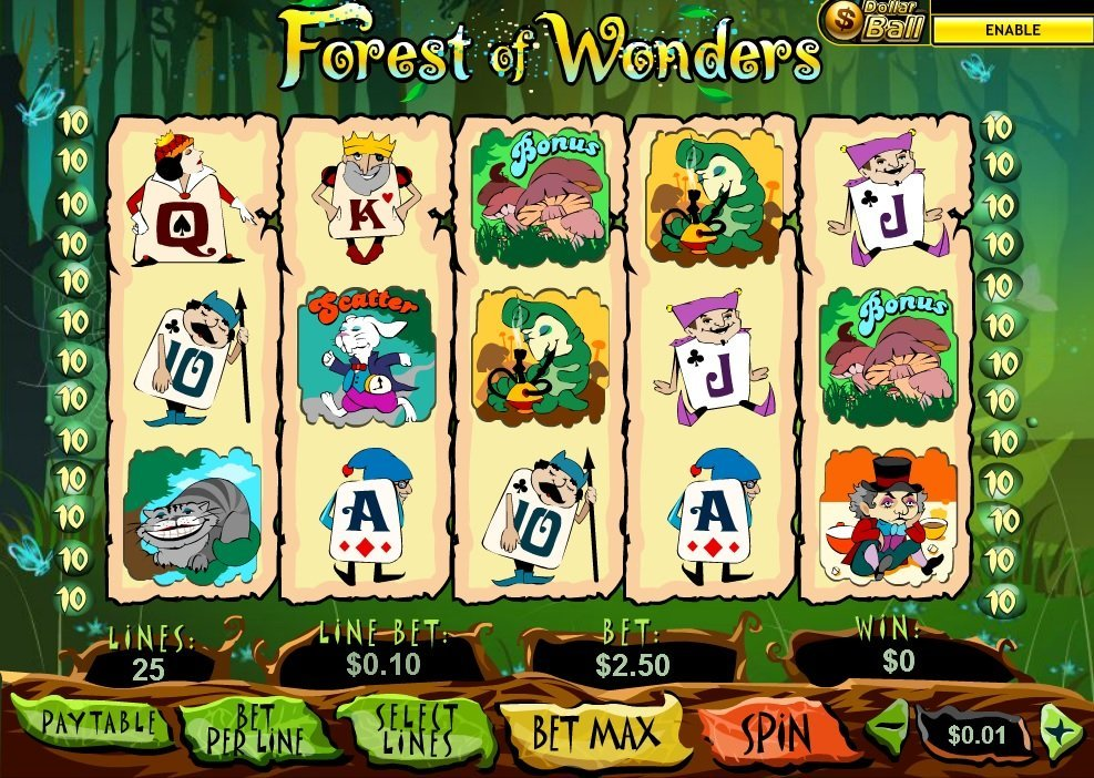 Forest Of Wonders Slot Review