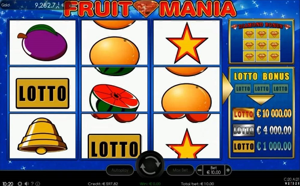Fruit Mania Slot Review