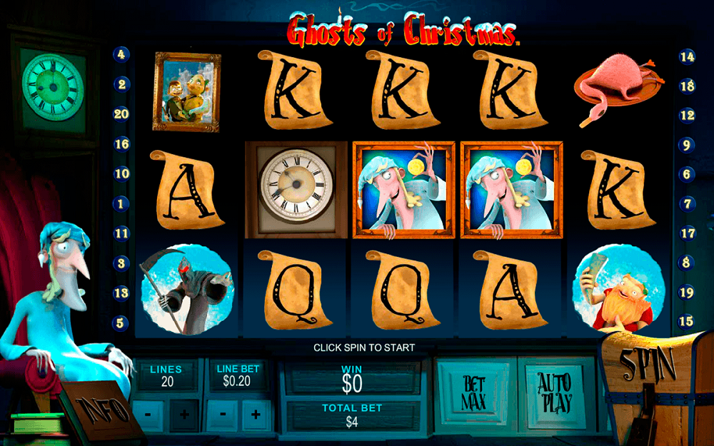 Ghosts Of Christmas Slot Review