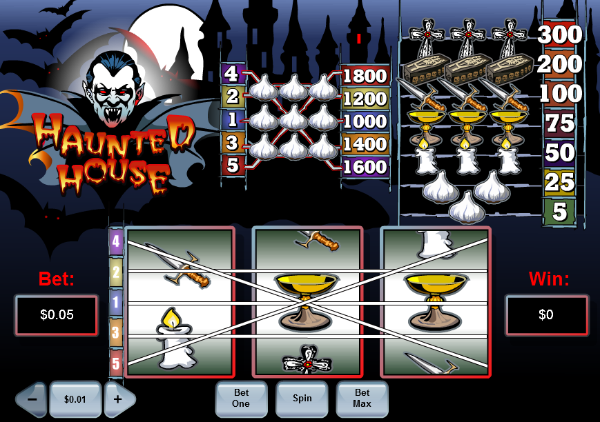 Haunted House Slot Review