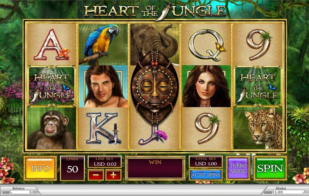 Heart Of The Jungle Slot Review