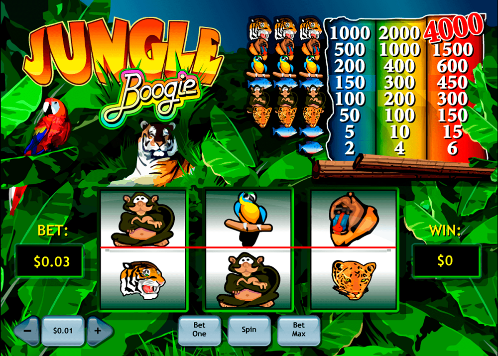 Jungle Boogie Slot Review