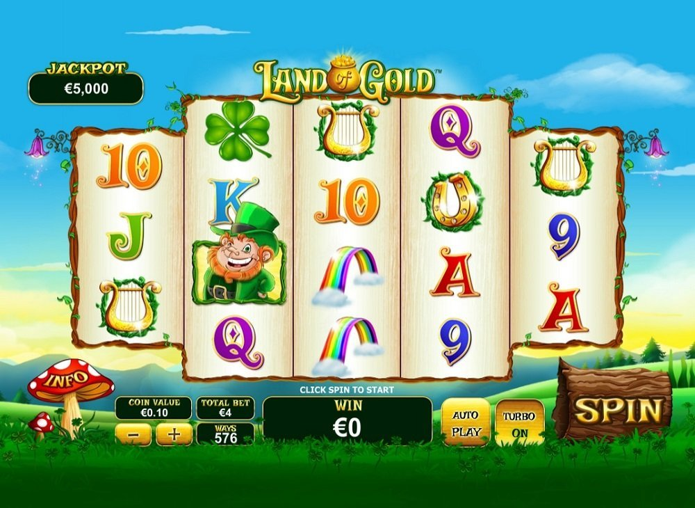 Land Of Gold Slot Review