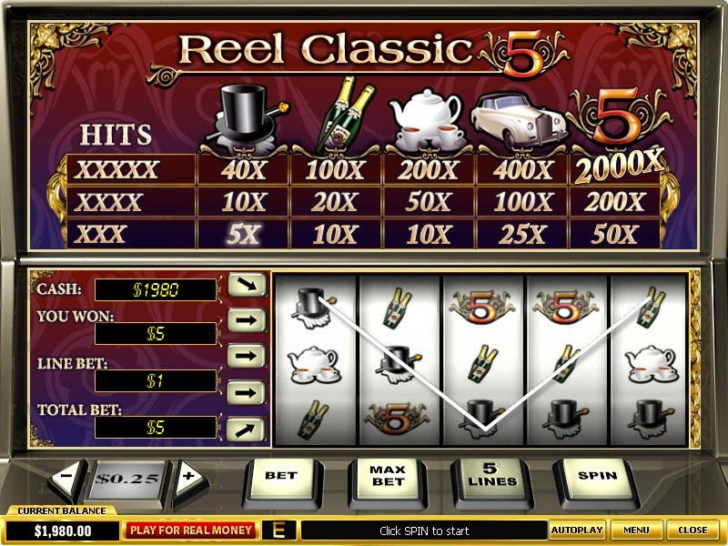 Reel Classic 5 Slot Review