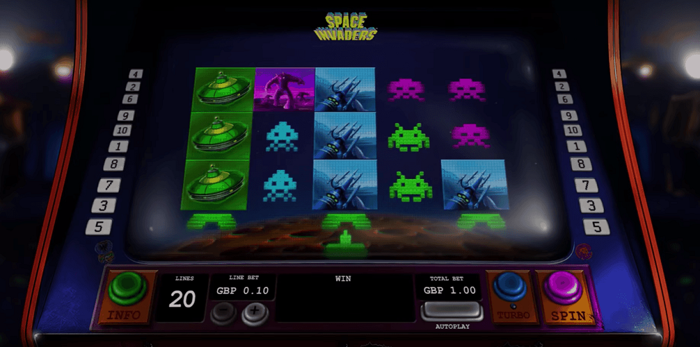 Space Invaders Slot Review