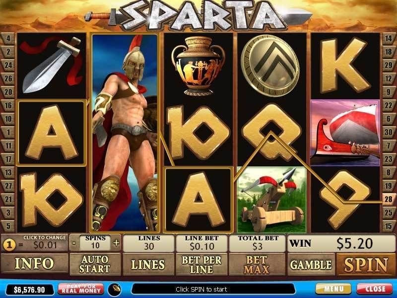 Sparta Slot Review