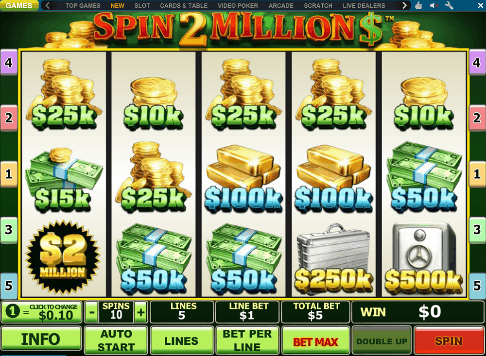 Spin 2 Millions Slot Review