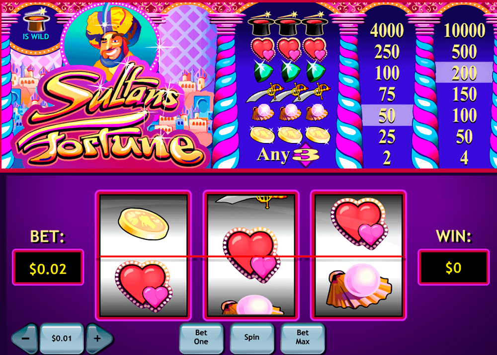 Sultans Fortune Slot Review