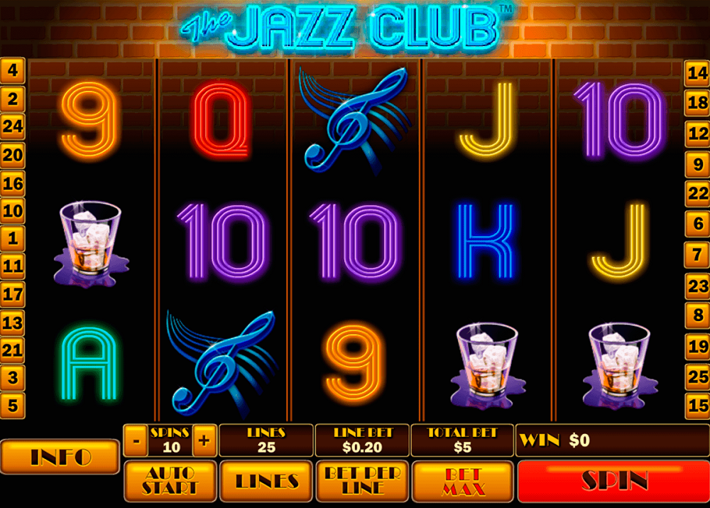 The Jazz Club Slot Review