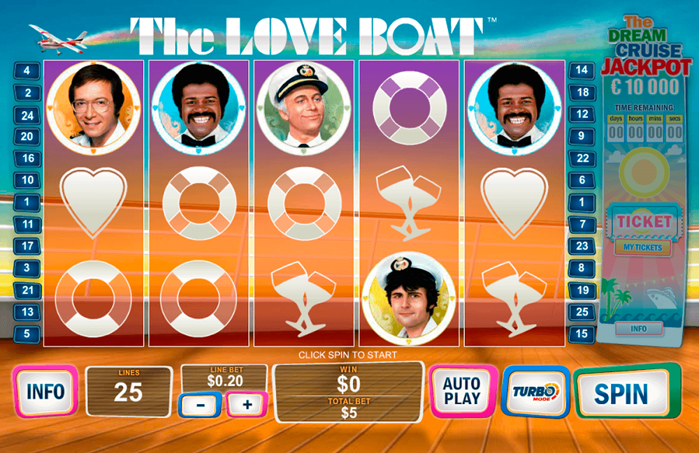 The Love Boat Slot Review