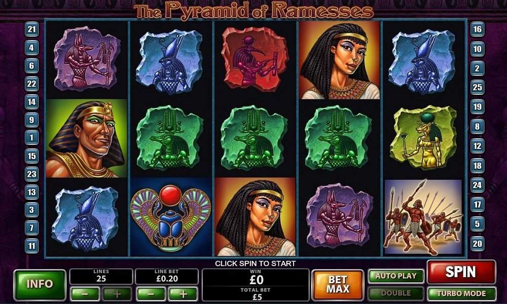 The Pyramid Of Ramesses Slot Review
