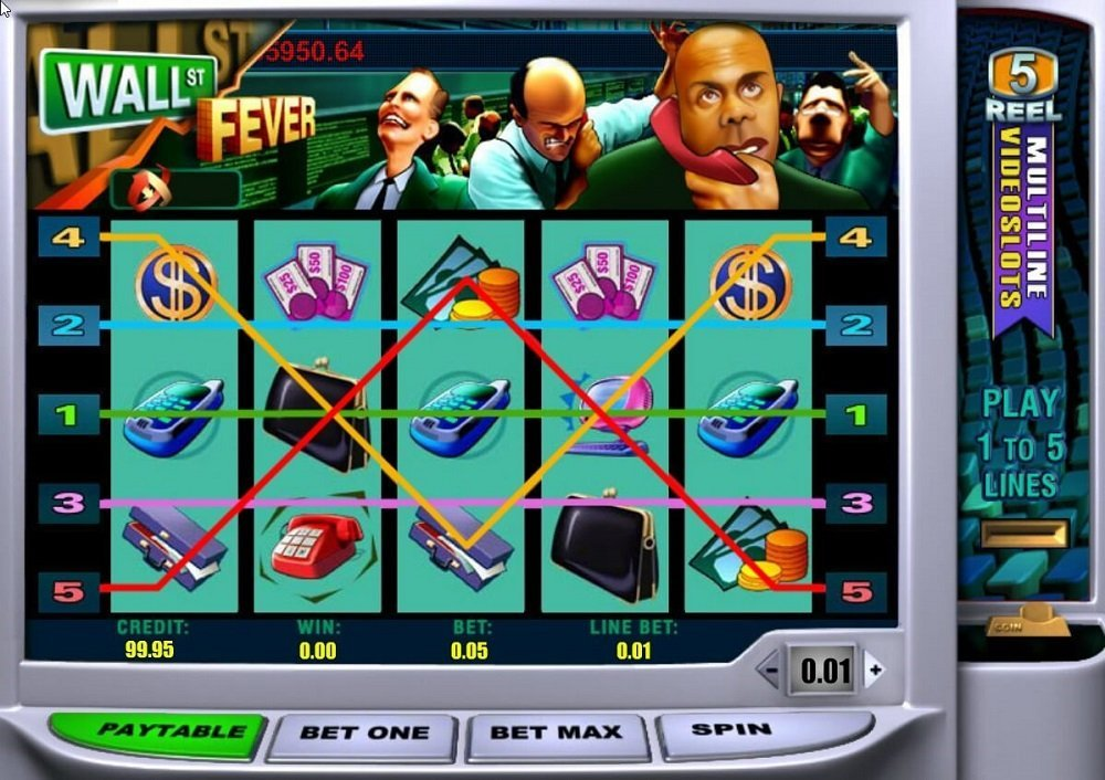 Wall St Fever Slot Review