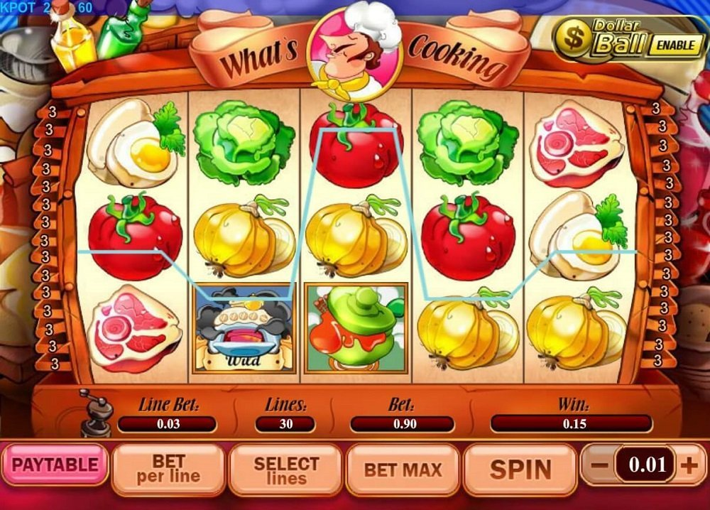 Whats Cooking Slot Review