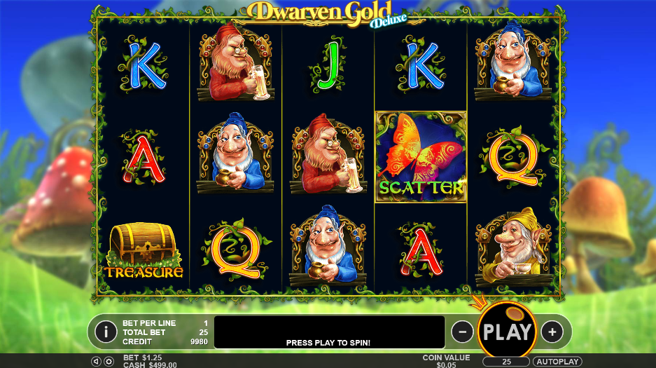 Dwarven Gold Deluxe Slot Review
