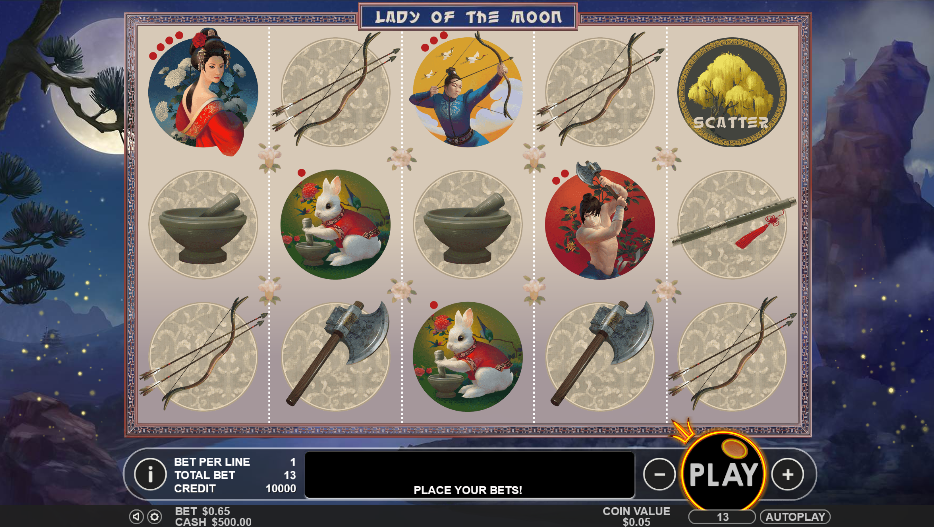Lady Of The Moon Slot Review