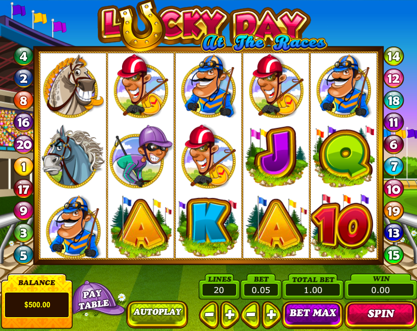 Lucky Day At The Races Slot Review