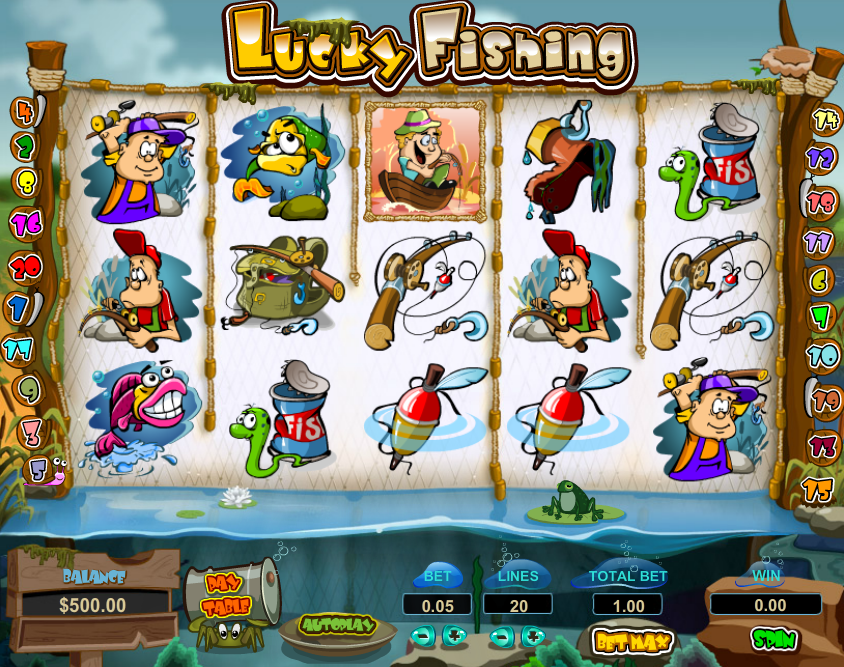 Lucky Fishing Slot Review