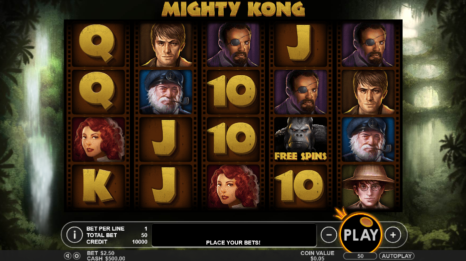 Mighty Kong Slot Review
