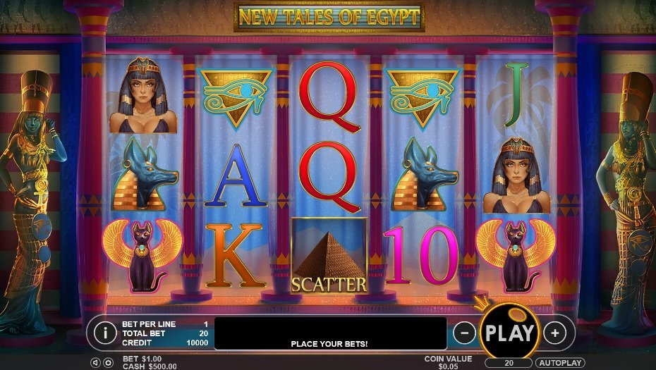 New Tales Of Egypt Slot Review