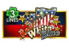 Red White Blue 3 Lines Slot