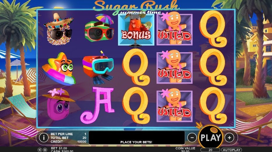 Sugar Rush Summer Time Slot Review