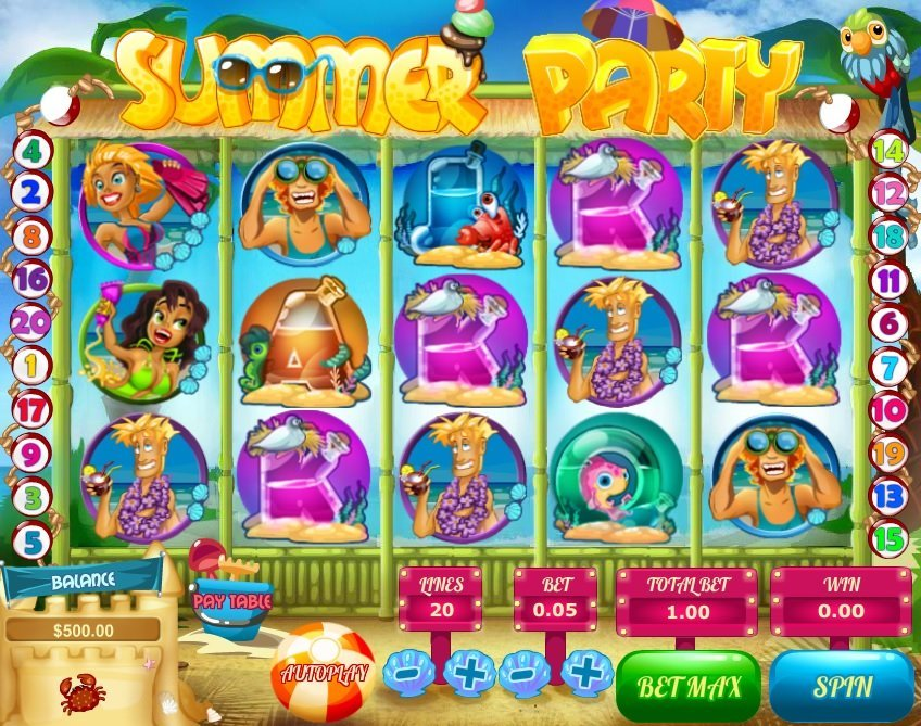 Summer Party Slot Review