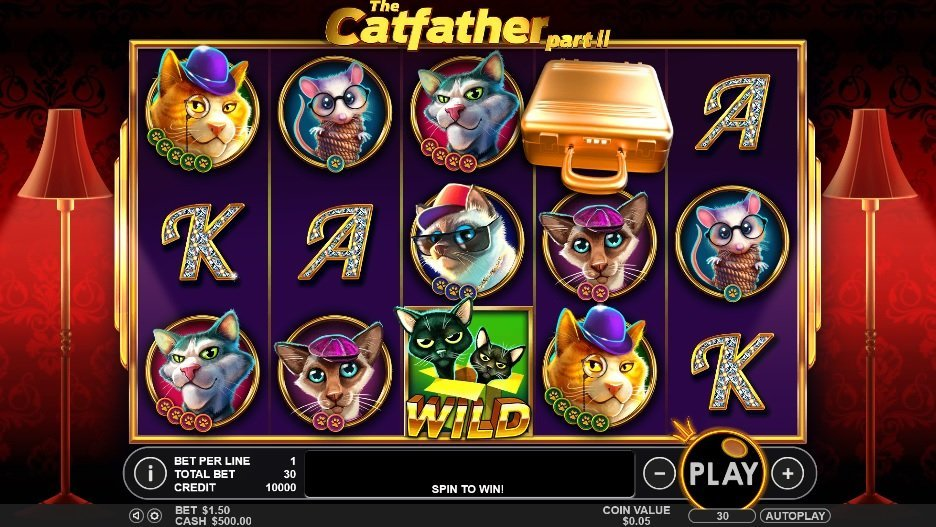 The Catfather Part Ii Slot Review