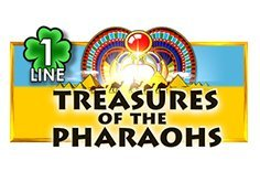 Treasures Of The Pharaohs 1 Line Slot