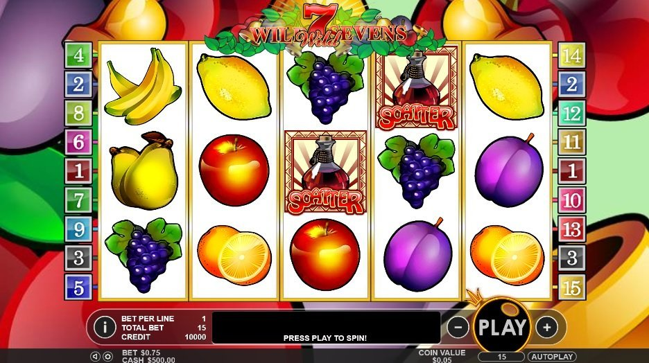 Wild Sevens Slot Review